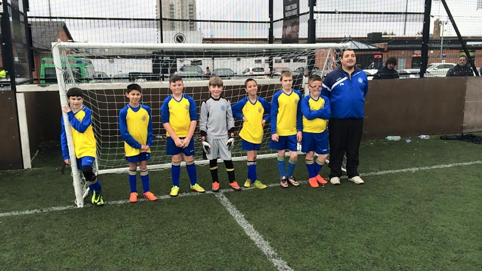 St Albans City Youth Disability Entered Two Teams Into The Boreham Wood Inclusive Tournament At Meadow Park