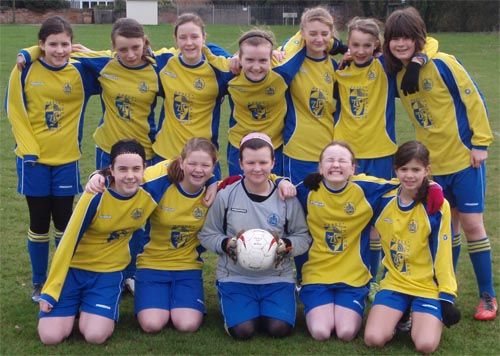 St Albans City Youth Under 12 Girls League Champions 2011